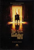 """Movie Posters:Crime, The Godfather Part III (Paramount, 1990). One Sheet (27"""" X 40"""") SS Advance. Crime.. ..."""