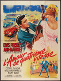"Movie Posters:Elvis Presley, Viva Las Vegas (MGM, 1964). French Grande (47"" X 63""). ElvisPresley.. ..."