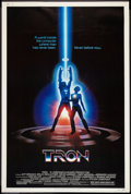 "Movie Posters:Science Fiction, Tron (Buena Vista, 1982). Poster (40"" X 60""). Science Fiction.. ..."