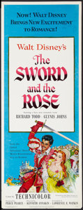 "Movie Posters:Adventure, The Sword and the Rose (RKO, 1953). Insert (14"" X 36""). Adventure....."