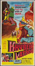 "Movie Posters:Adventure, Khyber Patrol (United Artists, 1954). Three Sheet (41"" X 79"").Adventure.. ..."