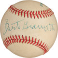 Baseball Collectibles:Balls, Bart Giamatti and Pete Rose Dual Signed Baseball....