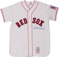 Baseball Collectibles:Uniforms, Ted Williams Signed Jersey....