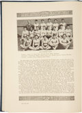 Basketball Collectibles:Others, 1928 Coach Adolph Rupp High School Yearbook....