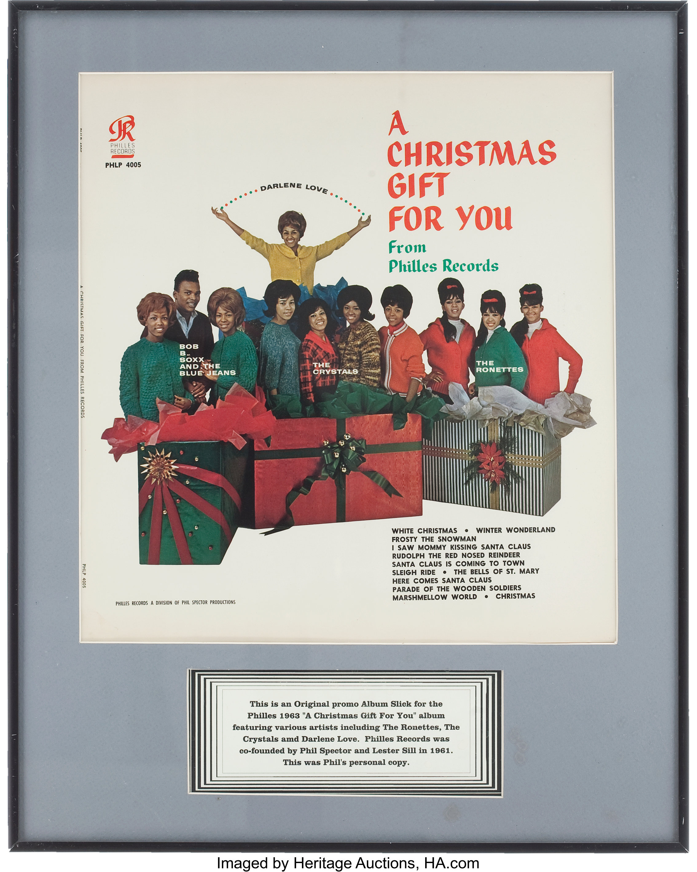 A Christmas Gift For You From Phil Spector.Phil Spector S A Christmas Gift For You From Philles Records