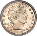 Barber Quarters, 1896-O 25C MS68 NGC....