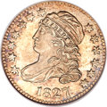 Bust Dimes, 1827 10C MS67 Prooflike NGC. JR-12, R.1....
