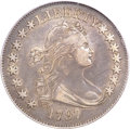 Early Half Dollars, 1797 50C XF45 PCGS. CAC. O-101a, High R.4....
