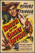 "Movie Posters:Western, North of the Great Divide (Republic, 1950). One Sheet (27"" X 41""). Western.. ..."