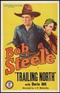 "Movie Posters:Western, Trailing North (Monogram, 1933). Stock One Sheet (27"" X 41"").Western.. ..."