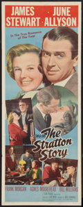 """Movie Posters:Sports, The Stratton Story (MGM, 1949). Insert (14"""" X 36""""). Sports.. ..."""