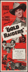 """Movie Posters:Comedy, Gold Raiders (United Artists, 1951). Insert (14"""" X 36""""). Comedy.. ..."""