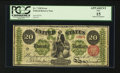 Large Size:Legal Tender Notes, Fr. 126 $20 1863 Legal Tender PCGS Apparent Fine 15.. ...