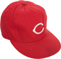 Baseball Collectibles:Uniforms, Circa 1985 Pete Rose Game Worn Cincinnati Reds Cap....