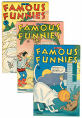 Golden Age (1938-1955):Miscellaneous, Famous Funnies File Copies Group (Eastern Color, 1944-47) Condition: Average VF.... (Total: 8 Comic Books)