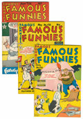 Golden Age (1938-1955):Miscellaneous, Famous Funnies File Copy Group (Eastern Color, 1948-51) Condition: Average VF+.... (Total: 8 Comic Books)