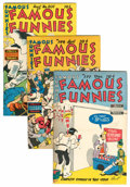Golden Age (1938-1955):Miscellaneous, Famous Funnies File Copy Group (Eastern Color, 1951-53) Condition: Average VF+.... (Total: 9 Comic Books)