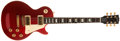 Musical Instruments:Electric Guitars, 1990s Gibson Les Paul Standard Candy-Red Electric Guitar, #91900326....