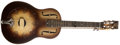 Musical Instruments:Resonator Guitars, Mid-1930s National Triolian Polychrome Resophonic Guitar, #2930W....