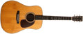 Musical Instruments:Acoustic Guitars, 1951 Martin D-28 Natural Acoustic Guitar, #122442....