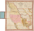 Books:Non-fiction, Samuel A. Mitchell: A New Map of Texas, Oregon and Californiawith the Regions Adjoining. Philadelphia. 1846. Co...