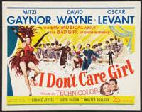 "The I Don't Care Girl Lot (20th Century Fox, 1953). Half Sheets (2) (22"" X 28""). Musical. ... (Total: 2 Items)"