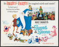 "Movie Posters:Animated, The Sword in the Stone Lot (Buena Vista, R-1973). Half Sheets (2)(22"" X 28""). Animated.. ... (Total: 2 Items)"