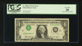 Error Notes:Inverted Third Printings, Fr. 1908-J $1 1974 Federal Reserve Note. PCGS Very Fine 20.. ...