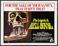 "Movie Posters:Horror, The Legend Of Hell House Lot (20th Century Fox, 1973). Half Sheets (2) (22"" X 28""). Horror.. ... (Total: 2 Items)"