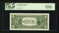 Error Notes:Third Printing on Reverse, Fr. 1908-F $1 1974 Federal Reserve Note. PCGS Superb Gem New 67PPQ.. ...