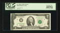 Error Notes:Ink Smears, Fr. 1936-F $2 1995 Federal Reserve Note. PCGS Extremely Fine40PPQ.. ...