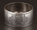 Silver Holloware, American:Napkin Rings, AN AMERICAN SILVER NAPKIN RING . Tiffany & Co., New York, NewYork, circa 1923. Marks: TIFFANY & CO., 20272A MAKERS31364,...