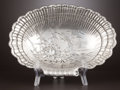 Silver Holloware, American:Bowls, AN AMERICAN SILVER SHELL-FORM DISH . Wm. B. Durgin Co., Concord,New Hampshire, circa 1884. Marks: (D above dove with cros...