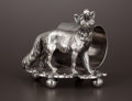 Silver Holloware, American:Napkin Rings, AN AMERICAN SILVER PLATE FIGURAL NAPKIN RING . Barbour Silver Co.,Hartford, Connecticut, circa 1870. Marks: BARBOUR SILVE...