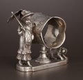 Silver Holloware, American:Napkin Rings, AN AMERICAN SILVER PLATE FIGURAL NAPKIN RING . James W. Tufts,Boston, Massachusetts, circa 1880. Marks: JAMES W. TUFTS,B...