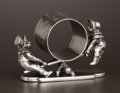 Silver Holloware, American:Napkin Rings, AN AMERICAN SILVER PLATE FIGURAL NAPKIN RING . Simpson, Hall,Miller & Co., Wallingford, Connecticut, circa 1875. Marks:S...
