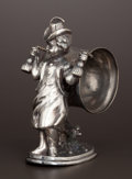 Silver Holloware, American:Napkin Rings, AN AMERICAN SILVER PLATE FIGURAL NAPKIN RING . Reed & Barton,Taunton, Massachusetts, circa 1875. Marks: MF'D & PLATEDBY...