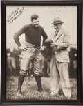 Autographs:Photos, 1926 Babe Ruth & Knute Rockne Inscribed Photograph....