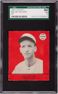 Baseball Cards:Singles (1940-1949), 1941 Goudey Joe Sullivan SP #22 SGC 84 NM 7 - Pop One, The HighestGraded Example! ...