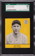 Baseball Cards:Singles (1940-1949), 1941 Goudey Jim Tobin #30 SGC 86 NM+ 7.5 - Pop One, Finest Known!...