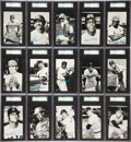 "Baseball Cards:Sets, 1974 Topps Test ""Deckle Edge"" Baseball Complete Set (72) - #1 on the SGC Set Registry!..."