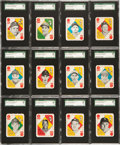 Baseball Cards:Sets, 1951 Topps Red Backs Complete Master Set (54) - #1 on the SGC SetRegistry! ...