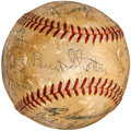 Autographs:Baseballs, 1950 Brooklyn Dodgers Team Signed Baseball....