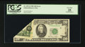 Error Notes:Foldovers, Fr. 2073-I $20 1981 Federal Reserve Note. PCGS Very Fine 25.. ...