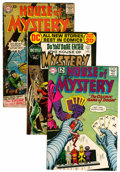 Silver Age (1956-1969):Horror, House of Mystery Group (DC, 1957-83).... (Total: 10 Comic Books)