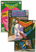 Silver Age (1956-1969):Horror, Unexpected Group (DC, 1968-71) Condition: Average NM-.... (Total: 8Comic Books)