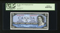 Canadian Currency: , BC-39bA $5 1954 Replacement Note. ...