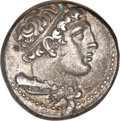 Ancients:Roman Republic, Ancients: Anonymous. Didrachm, 7.34g (6h). Rome, c. 269-266 BC. Obv: Bust of Hercules right, club and lion-skin over shoulder. Rx: She...