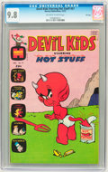 Bronze Age (1970-1979):Humor, Devil Kids Starring Hot Stuff #57 File Copy (Harvey, 1972) CGCNM/MT 9.8 Off-white to white pages....