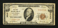 National Bank Notes:Colorado, La Jara, CO - $10 1929 Ty. 1 The First NB Ch. # 9840. ...